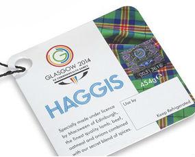 Glasgow 2014 Commonwealth Haggis