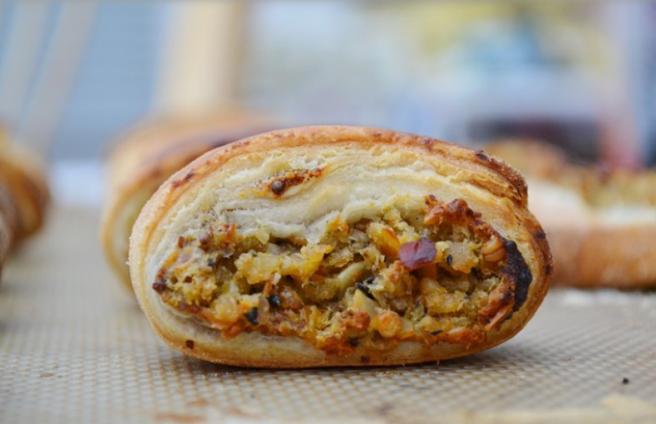 Haggis sausage rolls